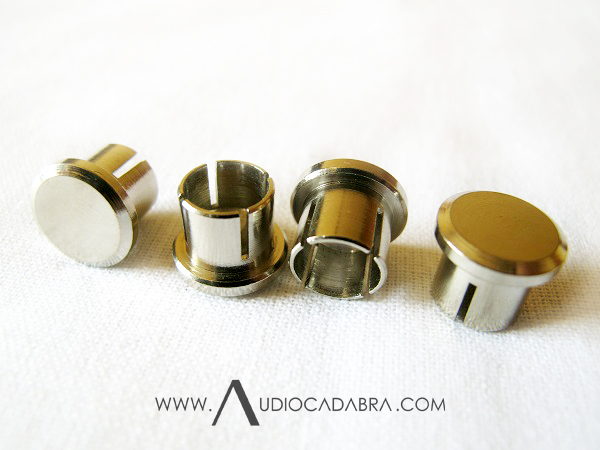 Audiocadabra Maximus Handcrafted RCA Caps