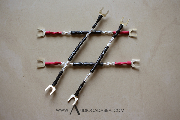 Audiocadabra Ultimus3 Ultra Handcrafted Solid-Silver Jumper Cables