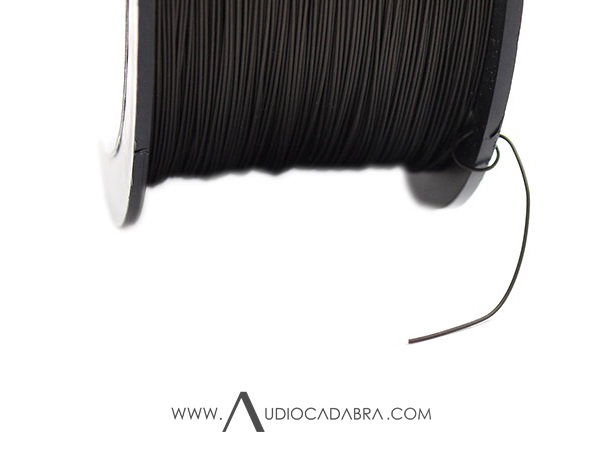Audiocadabra-Ultimus-16-AWG-(1.30mm)-Pure-Solid-Core-Silver-Wire-Spool-With-Spindle