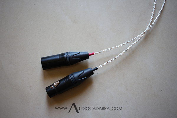 Audiocadabra Ultimus3 Handcrafted Solid-Silver Analog XLR Cables