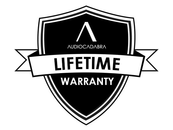Audiocadabra Lifetime Warranty