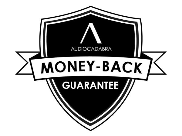 Audiocadabra Money-Back Guarantee