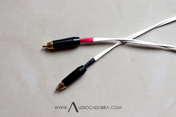 Audiocadabra Ultimus4 Prime Solid-Silver Double-Shielded RCA Cables