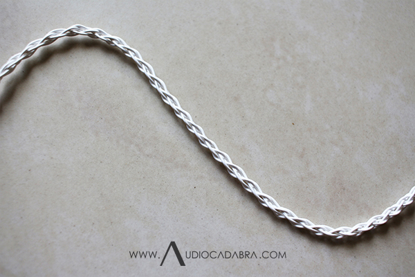 Audiocadabra-Ultimus-Hand-Braided-6-Wire-Pure-Solid-Silver-SuperClear-Cord-Construction