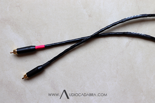 Audiocadabra-Optimus4-Prime-Solid-Copper-SuperQuiet-RCA-Cables-Mkl-Directionality-Marked