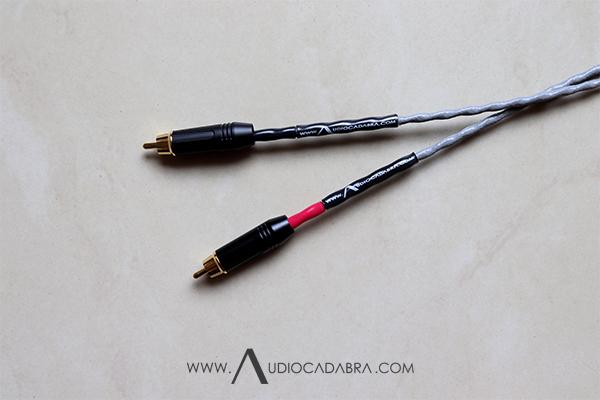 Audiocadabra Xtrimus4 Plus Solid-Silver SuperQuiet RCA Cables