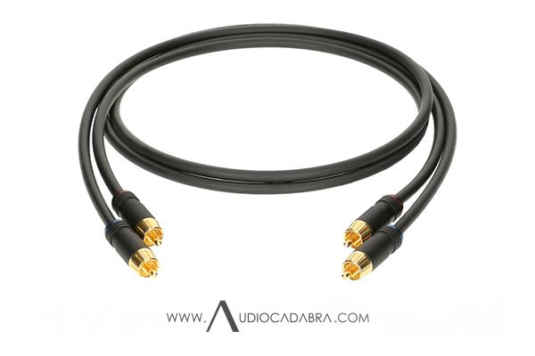 Audiocadabra Optimus2 Solid-Copper SuperQuiet RCA Cables